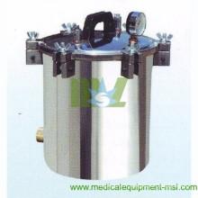Stérilisateur à vapeur autoclave portable à l'acier inoxydable (8L) MSLPS05W - stérilisateur à vapeur hospitalier