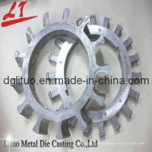 Moulage sous pression en aluminium de précision pour engrenage avec ISO9001: 2008, SGS, RoHS