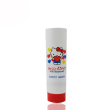 200ml tube holle kitty baby body wash packaging tube