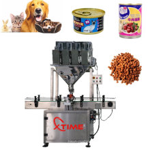 Tiernahrung, die Verpackungsmaschine-Süßigkeits-Samen-Verpackung füllt