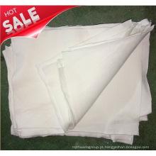 Reciclagem Pano Cortado Branco Rags Algodão