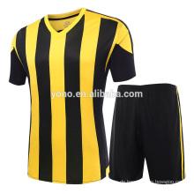 2017 beste preis new jersey fußball uniform hohe qualität fabrik versorgung