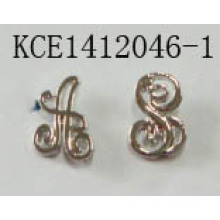 Music Symbols Earrings with Metal Melody