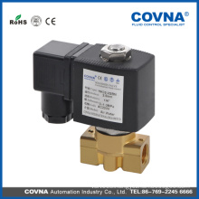 High temperature hot oil ss / brass 24v solenoid valve for hot style