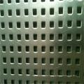Folha de metal perfurada do furo quadrado de alta qualidade