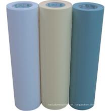 Papel de silicona para el material de la etiqueta