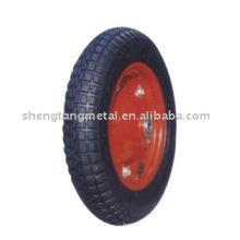roda de carrinho de mão pneumática de alta qualidade PR1301