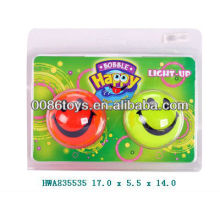 smily ball with light for kids