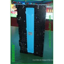 Exposição de diodo emissor de luz exterior interna P3.91 do arrendamento de 500X1000mm, P4.81, P6.25