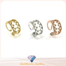 925 moda y deslumbrante anillo de plata de alta calidad (r10463)