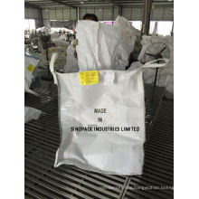 White Type D Anti Static Bulk Bags Ungroundable, Anti-Sift for Chemicals