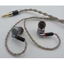 Écouteurs / écouteurs haute résolution avec jack 3,5 mm doré
