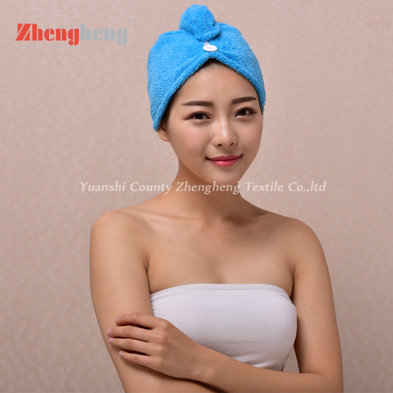 Coral Fleece Hair Cap (26)