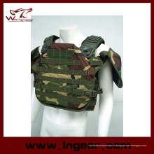 Equipo militar táctico Tortoise Shell a prueba de balas chaleco ejército chaleco de la seguridad