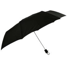 Large size 27inch aluminum shaft 3 fold golf umbrella with logo designs