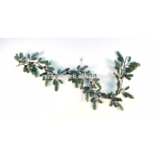 Cuelgue plástico verde hierba árbol de Navidad Garland
