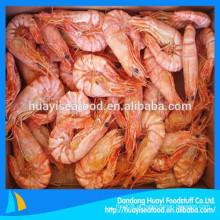 Exigência de camarão seco congelado