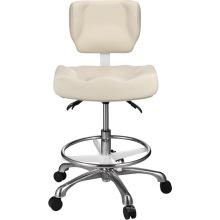 Tabouret moderne en mousse avec chaise pivotante et coussin pivotant