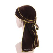 Verschiedene Farben Bulk Haarschmuck Bandana Jersey Turban