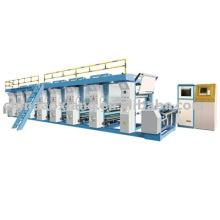 Máquina de impressão de rotogravura de filme ASY-C1000 computador de alta velocidade