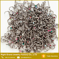 316L Surgical Steel Crystal CZ Gem Nose Screw Piercing Jewelry