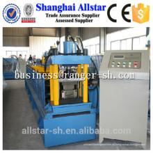 Fabricante de acero y marco de puerta de aluminio del rodillo formada que hace la máquina