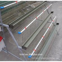 Une cage de poulet de type cage pour cage à poules pondeuses