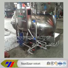 Small Model Autoclave Sterilizer Retort para la esterilización del almuerzo