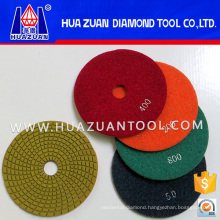 5 Inch Diamond Polish Pads for Stone