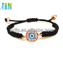 Kristall Strass Perlen Türkei böse Augen Shambala Armband