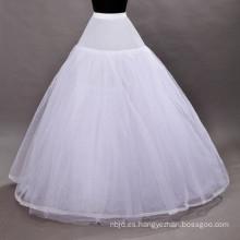 Enagua de la boda enagua nupcial del cordón de los aros del vestido de bola de la crinolina