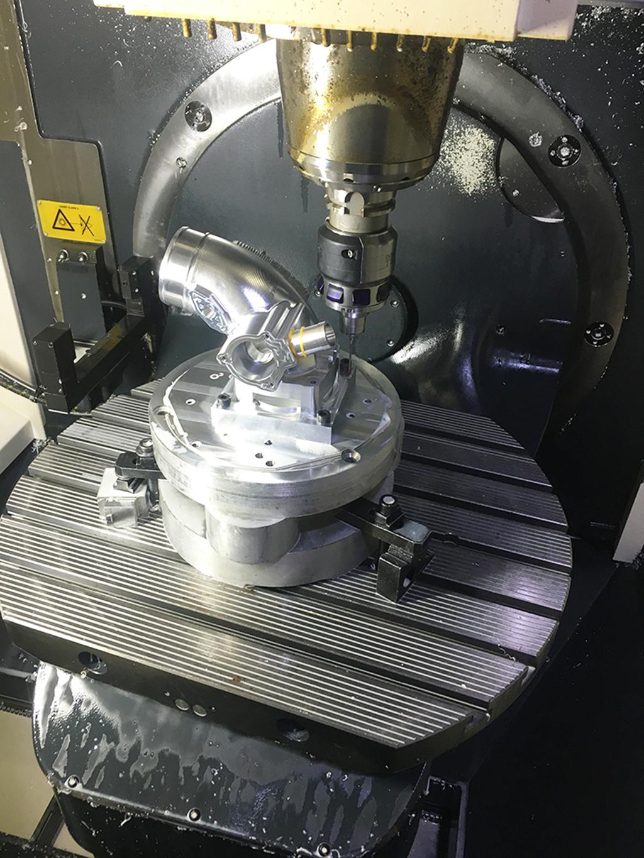 5 Axis CNC Machining