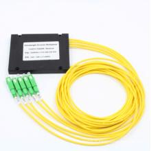 1 * 4 CWDM avec boîtier ABS et connecteur Sc