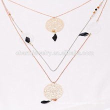 2015 NK006 Long Copper Sweater Chain Wholesale Feather Fashion Sweater Chain Stone Long Style Sweater Chain