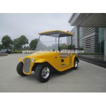 CE approuvé voiture de golf biplace alimenté par batterie DG-C2