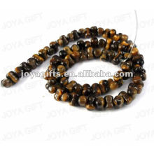 peanut Shaped tigereye stone beads