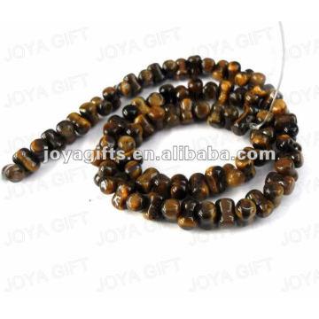 peanut Shaped tigereye stone beads