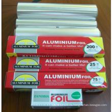 Бытовая алюминиевая фольга 25sqft, 37.5sqft, 75sqft, 200sqft
