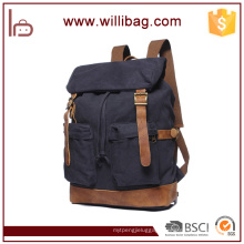 Wholesale Vintage Rucksack, Canvas Drawstring Backpack Bags For Men