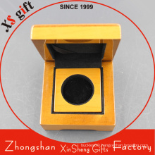 High Quality Custom Glossy Solid Gift Wooden Box for Coin
