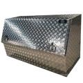 Caja de herramientas de aluminio de apertura media puerta pickup camioneta grande