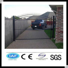 Wholesale alibaba China CE&ISO certificated metal gate/iron driveway gates/wrought iron gates(pro manufacturer)