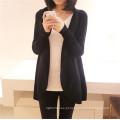 Hot Venda Moda Alta Qualidade Ladies Knitwear Long Casual Slim Fitting Knitting Mulher Cardigan