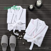 Отель постельное белье/Оптовая пользовательские пара халат сексуальных женщин халат отель