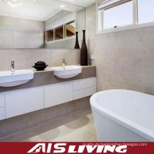 Doppel-Waschbecken Acryl Badezimmer Vanity Schränke (AIS-B004)