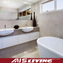 Double Basin Acrylic Bathroom Vanity Cabinets (AIS-B004)