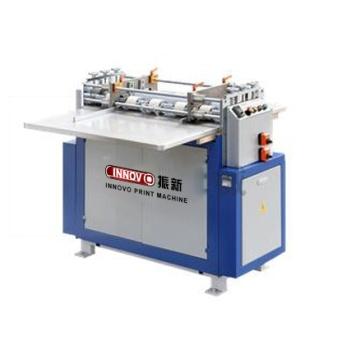 Semi-automatic cardboard grooving machine