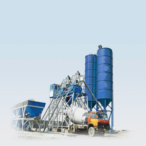 Elba Concrete Mixer Batching Plant Pot