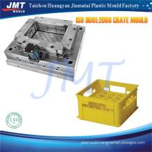 3D design OEM/ODM plastic industrial crates mould