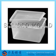 caja de plástico de la caja de la cosechadora molde del envase del cajón de verduras envase del molde del envase de comida del fabricante